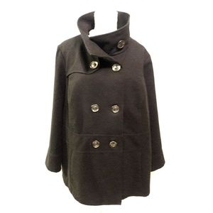 George Jackets & Coats - George Double Breasted Peacoat